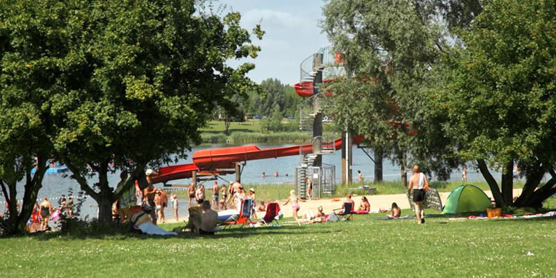 Erholungspark Mondsee Liegewiese