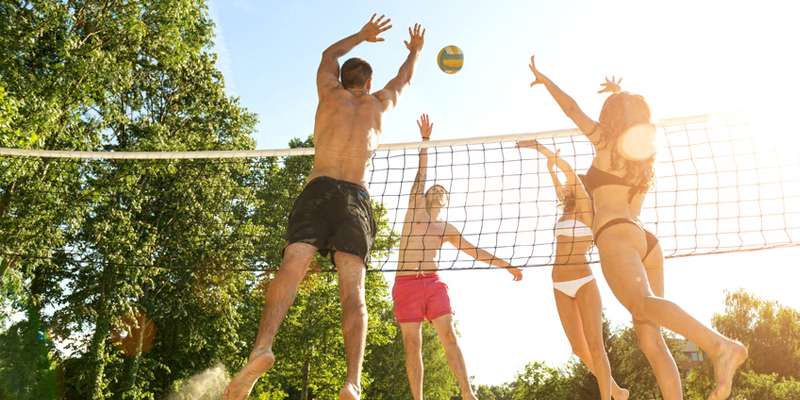 Erholungspark Mondsee Volleyball