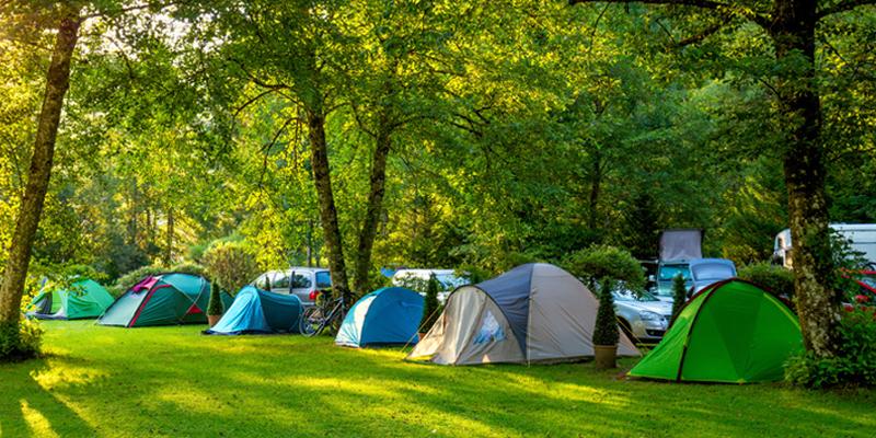 Erholungspark Mondsee Zelten